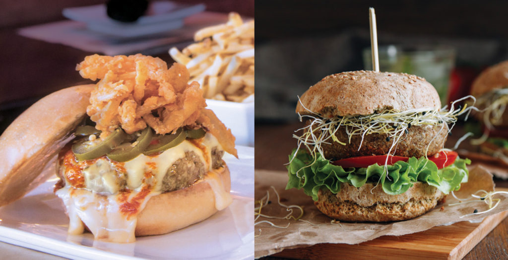 vegetarian-friendly restaurant menu options