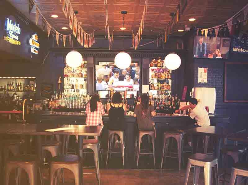 Primo Sports Bar in Center City Anaheim.