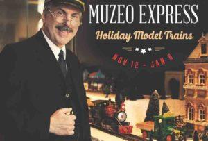 Muzeo Express model train exhibit in Anaheim.