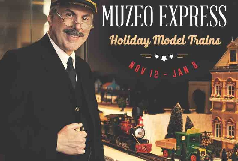 Muzeo Express model train exhibit in Anaheim.